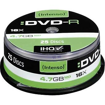 En blanco DVD-R 4.7 GB Intenso 4101154 25 PC Spindl