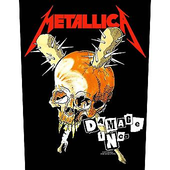 Metallica Back patch Damage Inc Band Logo new Official sew on 36cm x 28cm