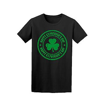 Happy St Patrick's Day Stamp Graphic Tee - Image by Shutterstock