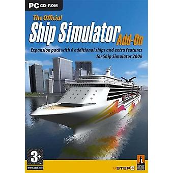 De officiële Ship Simulator Add-On-2006 (PC CD)
