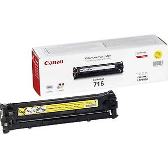 Toner cartridge Original Canon 716 Y Yellow Page yield 1500 pages