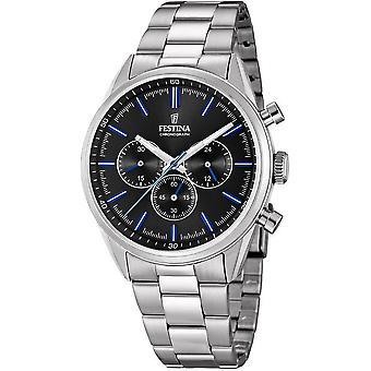 Festina mens watch of timeless chronograph F16820/8