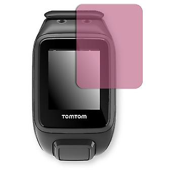 TomTom runner 2 cardio + music display protector - Golebo view protective film protective film