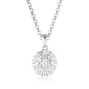 s.Oliver jewel ladies chain necklace silver Zyrkonia SO831/1 - 418669