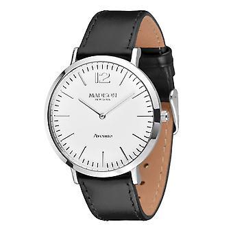 MADISON NEW YORK ladies watch wristwatch leather L4741C Avenue