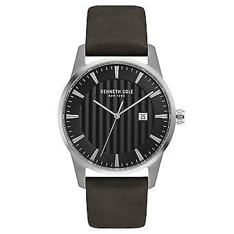 Kenneth Cole New York mænds wrist watch analog quartz læder KC15204002