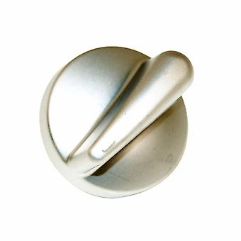 Belling metallisk sølv Finish kogeplade drejeknap