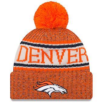 Ny æra NFL negligere 2018 Bobble Hat - Denver Broncos