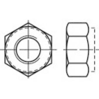 TOOLCRAFT 135177 Locknuts M5 DIN 982 Steel zinc galvanized 100 pc(s)
