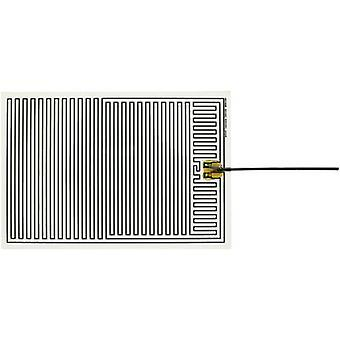 Thermo Polyester Heating foil self-adhesive 230 V AC 45 W IP rating IPX4 (L x W) 350 mm x 240 mm