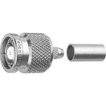 TNC reverse polarity connector Plug, straight 50 Ω Telegärtner J01010R0008 1 pc(s)
