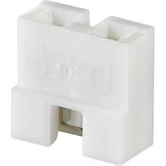 Shorting jumper Contact spacing: 2.54 mm Pins per row:2 FCI Dubox / PV / Bergstik Content: 1 pc(s)