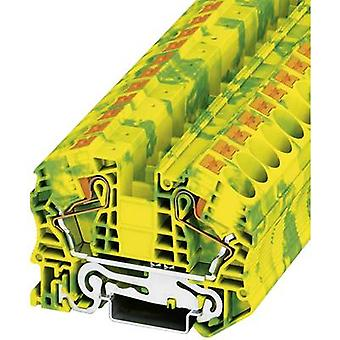 Phoenix Contact PT 16 N-PE 3212147 Tripleport PG terminal Number of pins: 2 0.5 mm² 16 mm² Green-yellow 1 pc(s)