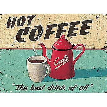 Hot Coffee Fridge Magnet