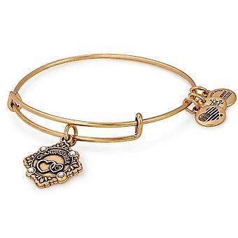 Alex and Ani Because I Love You Grandmother Charm Bangle Rafealian Gold - A18BILY05RG