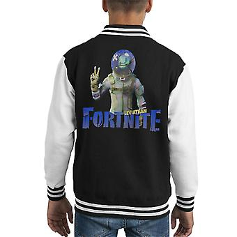 Leviathan Fortnite Kid Varsity Jacket