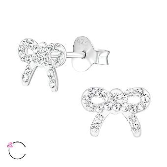 Bow crystal from Swarovski® - 925 Sterling Silver Children's Jewellery