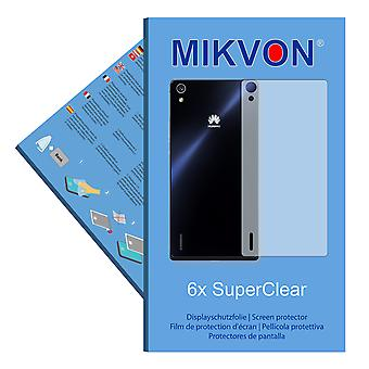 Huawei Ascend P7 reverse screen protector- Mikvon films SuperClear