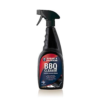 Spear and Jackson 750ml Ready-to-Use BBQ cleaner - powerful cleaning formula
