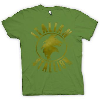 Koszulka męska - włoski ogier - Rocky - boks