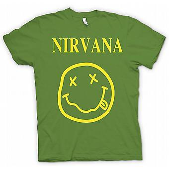 Kinderen T-shirt - Nirvana Smiley Face