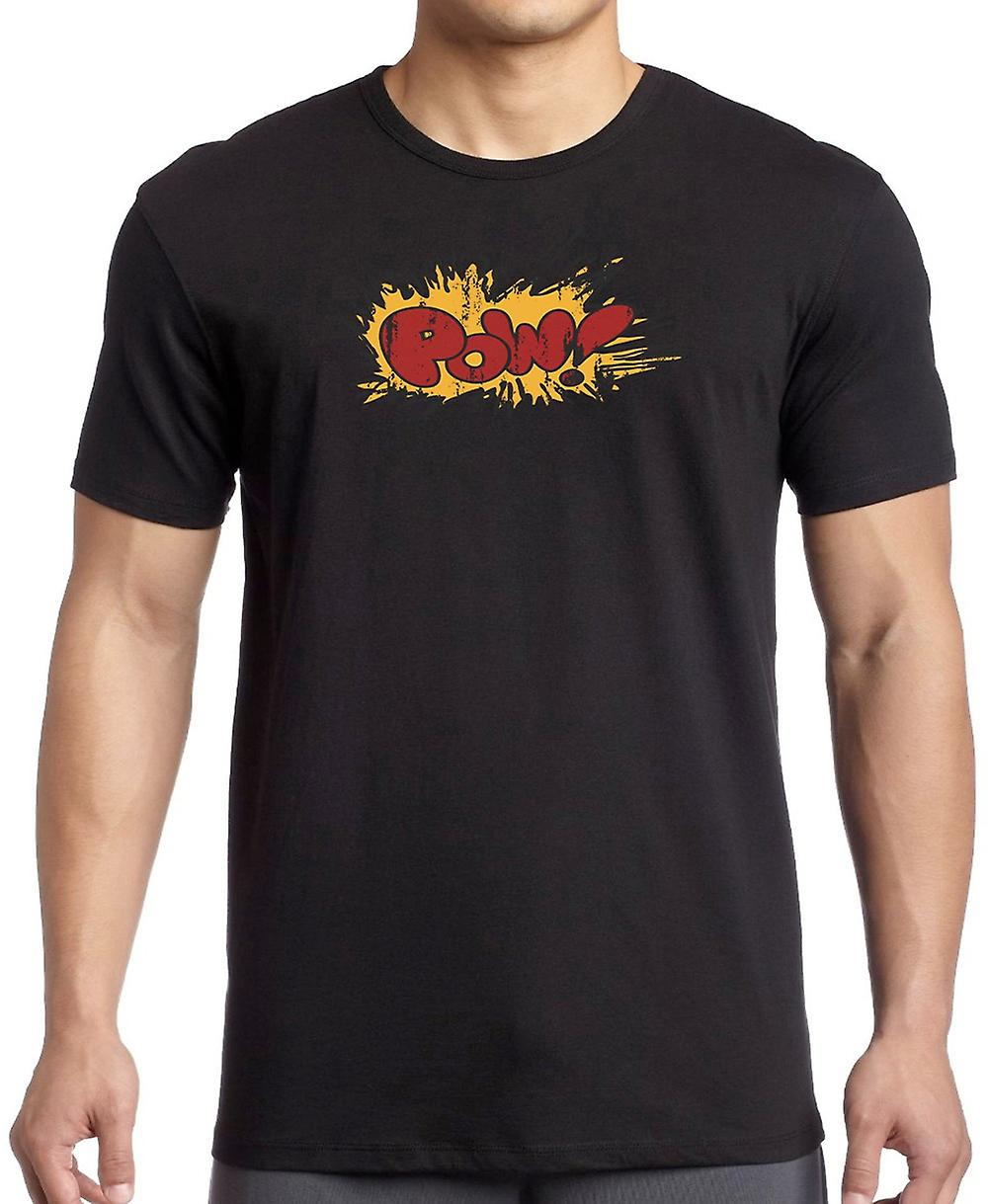 POW - Cartoon explosie - grappige T Shirt