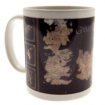 Game Of Thrones Official Map Mug