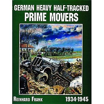 German Heavy Half-Tracked Prime Movers (Schiffer Military/Aviation History)
