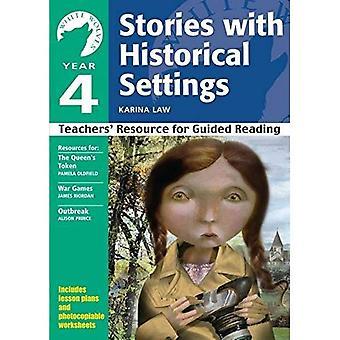 Yr 4 berättelser med historiska miljöer: lärares resurs för guidad läsning (vita vargar: berättelser med historiska miljöer)