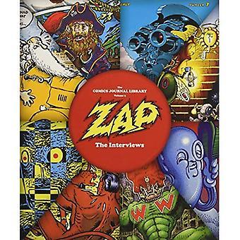 Zap: Les Interviews (la bibliothèque du Journal de bande dessinée)