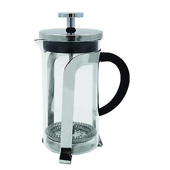 Stainless Steel Cafetiere 350ml Glass Coffee Maker Press Plunger