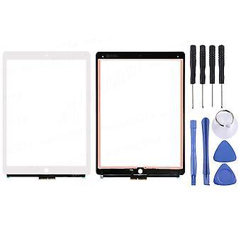 Touch Screen Glas kompatibel für Apple iPad Pro 12.9 1. Gen A1584 A1652 Display LCD Digitizer Weiß