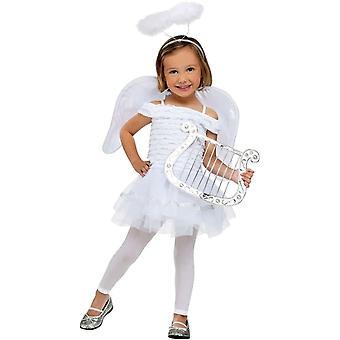 Pequeno anjo criança fantasia