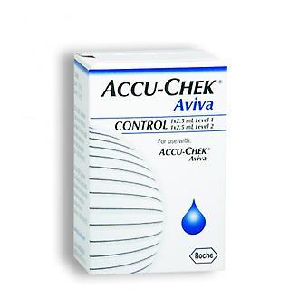 ACCU-CHEK AVIVA AUTO CONTROL SOLUCIÓN 2X2.5ML