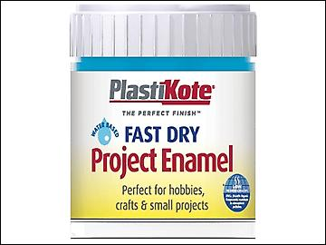 Plasti-kote Fast Dry Enamel Paint B8 Bottle Sky Blue 59ml