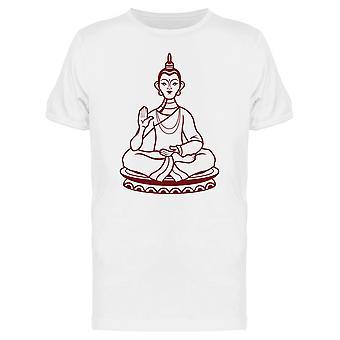 931755bd8 تمثال بوذا رمز الآسيوية المحملة رجالية-الصورة عن طريق Shutterstock