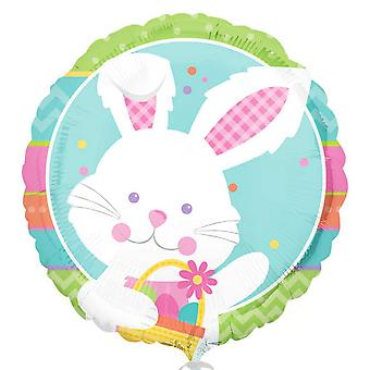 Anagram 18 Inch Happy Hop Easter Foil Balloon