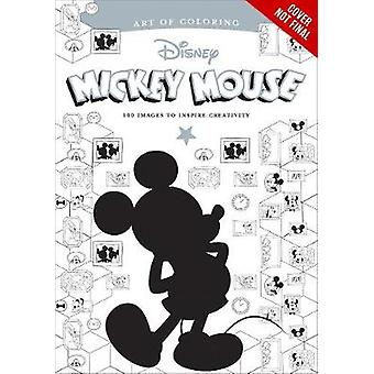 Art Of Coloring - Mickey Mouse And Minnie Mouse 100 Images To Inspire