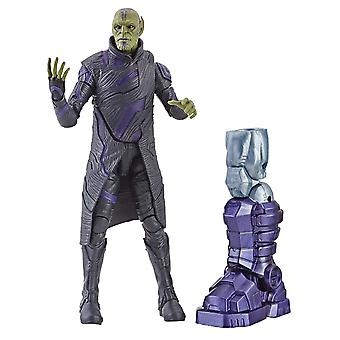 Captain Marvel 6-Inch Legends Talos Skrull Figure Toy