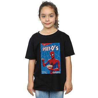 Marvel Girls Spider-Man Into The Spider-Verse Spidey-O's T-Shirt