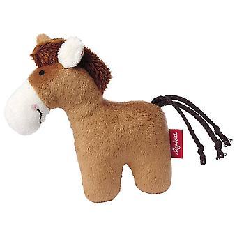 Sigikid Rattle Horse Red Stars