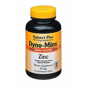 Naturen Plus DYNO-MINS Zink 50MG Tabletten 90