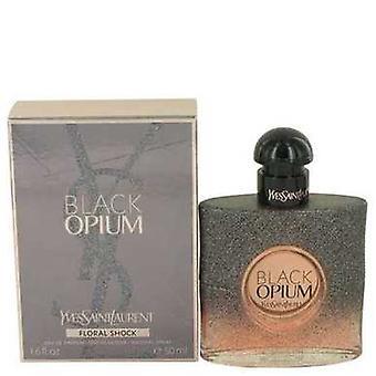 Schwarz Opium Floral Shock von Yves Saint Laurent Eau De Parfum Spray 1,7 Oz (Frauen) V728-536797