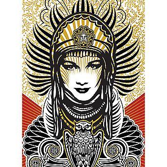 Shepard Fairey Art Print Peace Goddess Paper 250 gr. matt small format