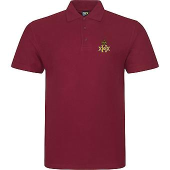 20th Hussars - Licensed British Army Embroidered RTX Polo