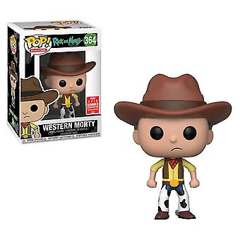 Rick and Morty Western Morty SDCC 2018 US Pop! Vinyl
