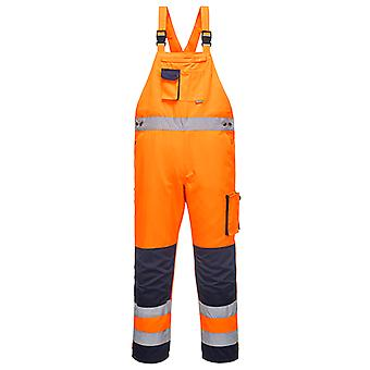 Portwest dijon hi-vis bib and brace tx52