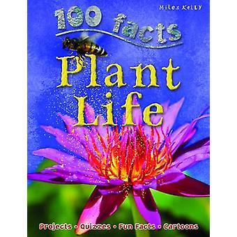 100 feiten planten leven door Miles Kelly