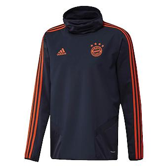 2019-2020 Bayern Munich Adidas EU Warm Top (Navy)