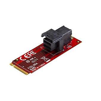 Startech U 2 Bis M 2 Adapter Für 2 5 U 2 Nvme Ssd